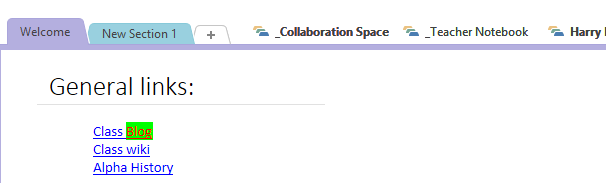collaborative OneNote